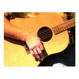 COUNTRY GUITAR POSTCARD