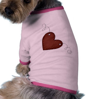 Country Heart Doggie T-shirt