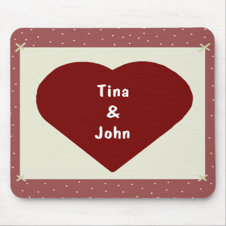 Country Heart Mousepad
