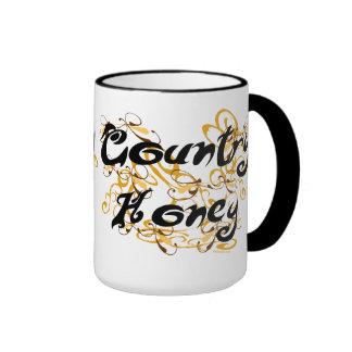 Country Honey Mugs