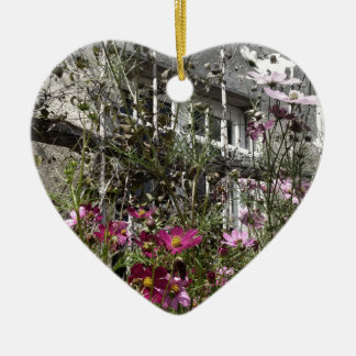 Country house christmas ornament
