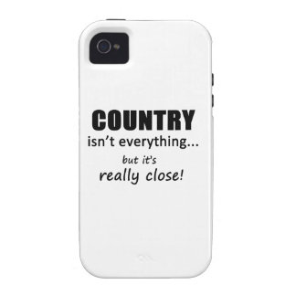 Country Isn t Everything iPhone 4 Cases