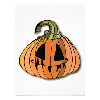 Country Jack-o-lantern Pumpkin Announcements