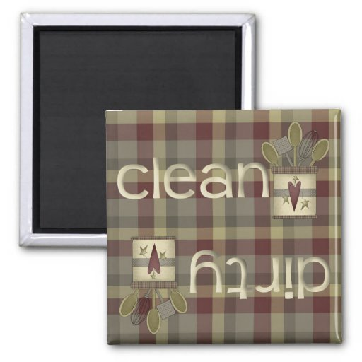Country Kitchen Dishwasher Magnet