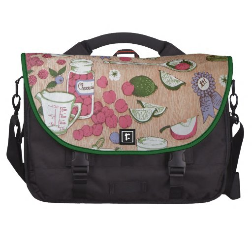 Country Kitchen Laptop Computer Bag
