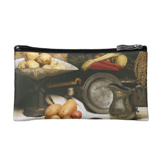 Country Kitchen Still Life Cosmetic Bag