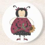 Country ladybug Coaster