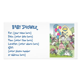 Country Life 20 Baby Shower Card