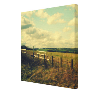 """""""Country Life"""" Series 1   Premium Wrapped Canvas"""