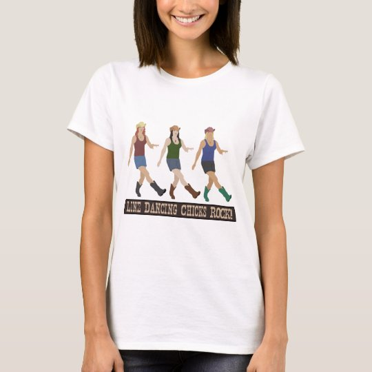 Country Line Dancing Chicks T-Shirt