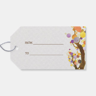 Country Love Trees Wedding Gift Tags