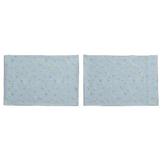Country Manor Pillowcases (Blue)