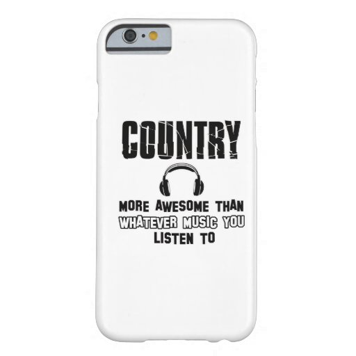 country music design iPhone 6 case