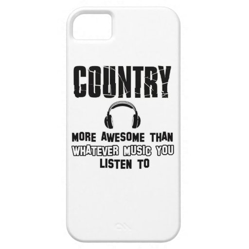 country music design iPhone 5/5S cover