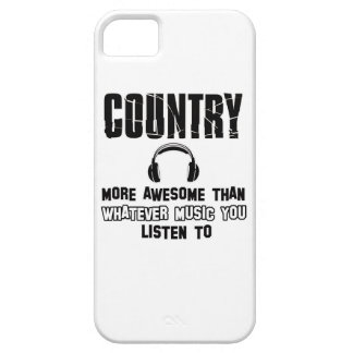 country music design case for the iPhone 5