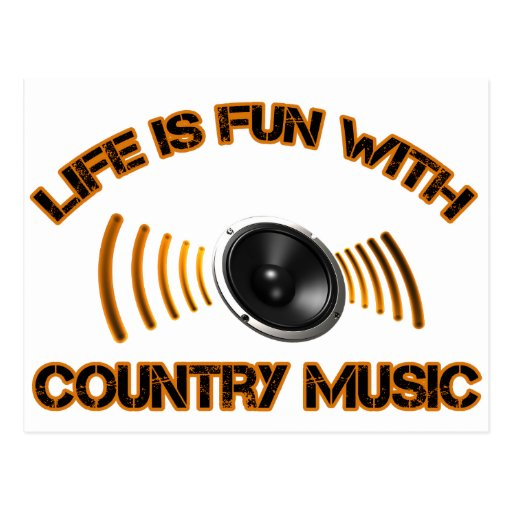 country music Design Post Cards