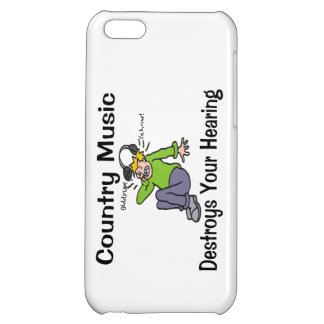 Country Music Destroys Your Hearing iPhone 5C Covers