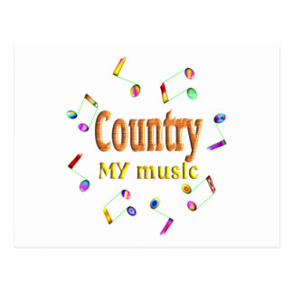 Country Music Lover Post Card