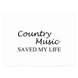 country music postcard