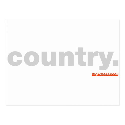 Country Music Postcards