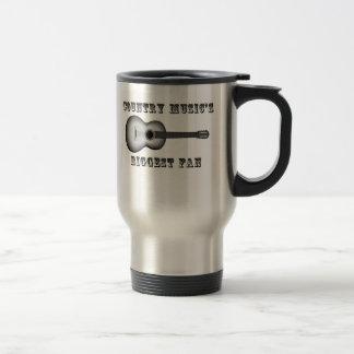 Country Music's Biggest Fan Coffee Mug
