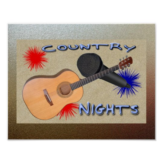 Country Nights Poster
