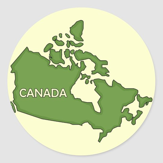 Country of Canada Stickers