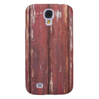 Country Old Barn Red Wood Look Case iPhone 3G/3GS Galaxy S4 Case