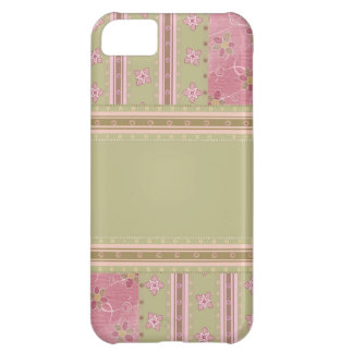 Country Patchwork Floral iPhone 5C Covers
