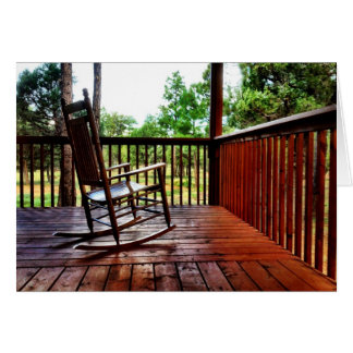 Country Porch Rocking Chair Cards