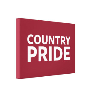 Country Pride Canvas Print