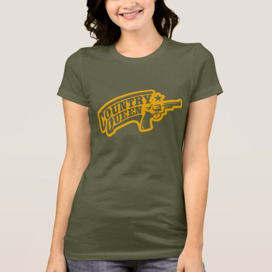 """COUNTRY QUEEN "" T-Shirt"