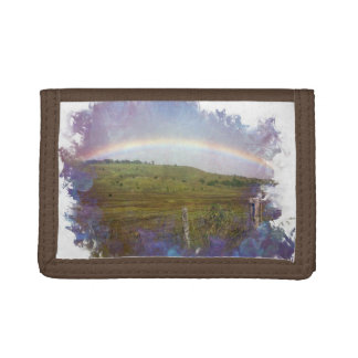 Country Rainbow Tri-fold Wallet