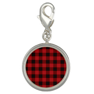 Country Red and black plaid
