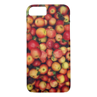 Country Red Apples Photograph on the Farm iPhone 8/7 Case