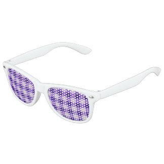Country Retro Gingham Lavender Purple
