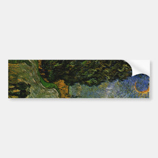 Country road in Provence - Van Gogh Bumper Sticker