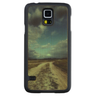 Country road leading to the church carved maple galaxy s5 case