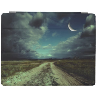 Country road leading to the church iPad cover