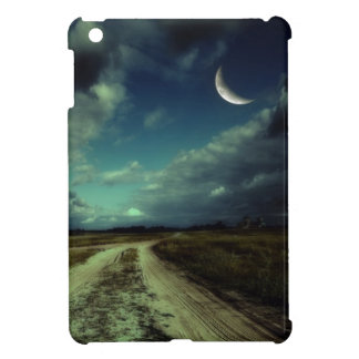 Country road leading to the church iPad mini covers