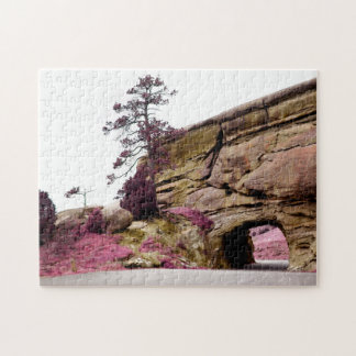 country road tunnel jigsaw puzzle
