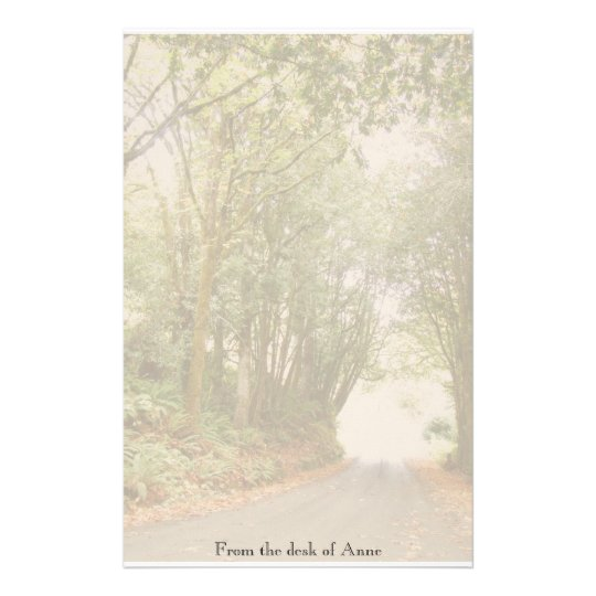 Country Road w/ Trees Personalised Stationery