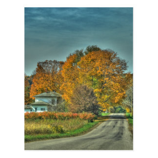 Country Roads  Postcard