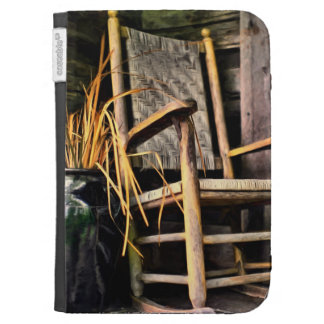 Country Rocking Chair Kindle 3G Cases