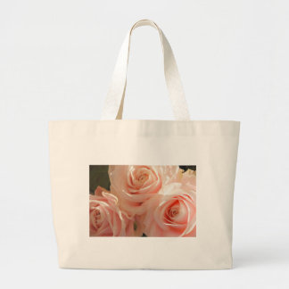 country rose large tote bag