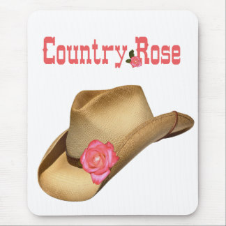 Country Rose Mousepad