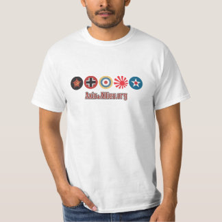 Country Roundels – Axis & Allies.org (men's white) T-Shirt