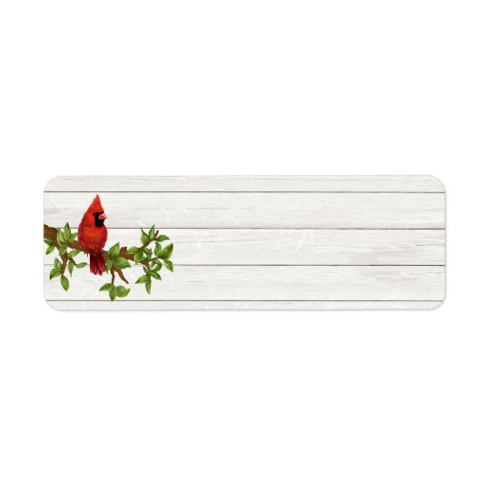Country Rustic Country Address Label