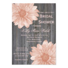 Country Rustic Daisy Bridal Shower Invitation