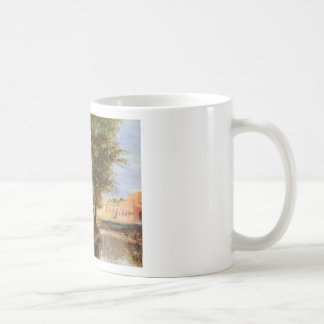 Country Scene - Adolph Menzel Mugs